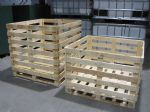 106cm High Wooden Crate - Fully Assembled
